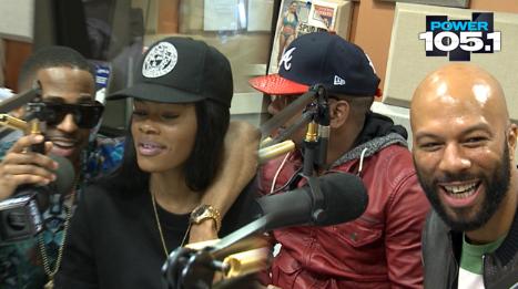 Big Sean, Pusha T, Common, CyHi The Prynce & Teyana Taylor – The Breakfast Club Interview