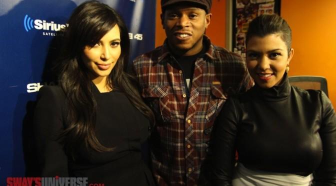 Kim Kardashian Interview @ Sway In The Morning