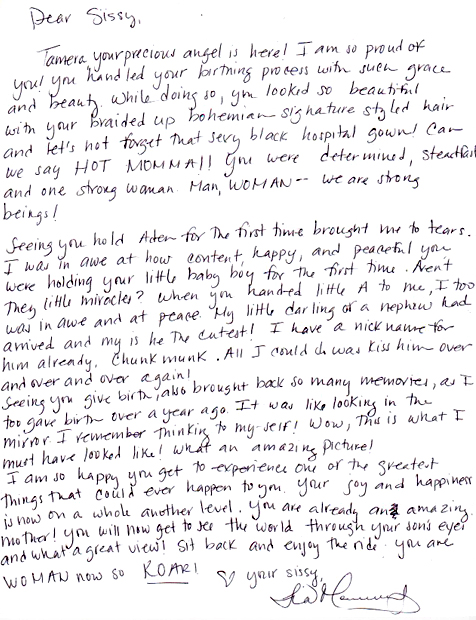 Thank You Letter To Son In Law