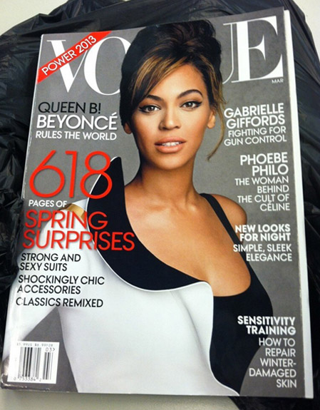 Beyonce covers Vogue's Power Issue
