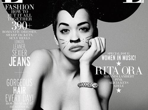 Rita Ora Covers ELLE's Women in Music Issue