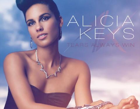 """ALICIA KEYS REVEALS """"TEARS ALWAYS WIN"""" SINGLE COVER"""