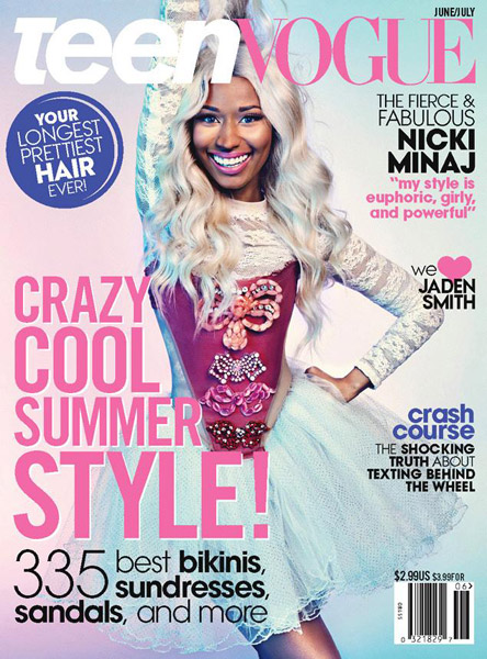 Nicki Minaj Covers Teen Vogue Magazine
