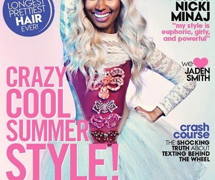 Nicki Minaj Covers Teen Vogue Magazine
