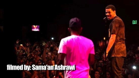Video: J.Cole Brings Out Kendrick Lamar In Houston