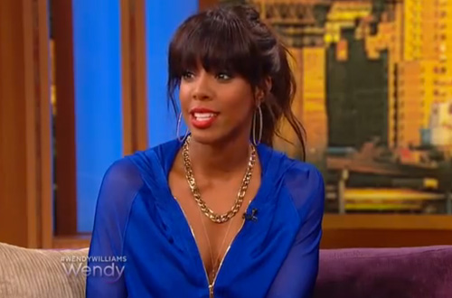 Video: Kelly Rowland on the Wendy Williams Show