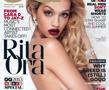 Rita Ora covers GQ Magazine