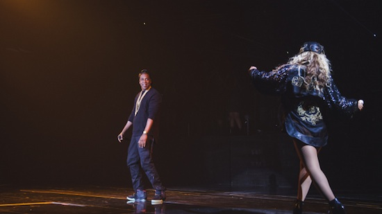 Video: Beyonce Brings Out Jay-Z At Barclays Center In Brooklyn