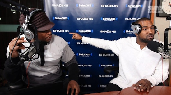 Video: Kanye West – Sway In The Morning Interview