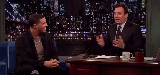Video: Drake – Jimmy Fallon Interview