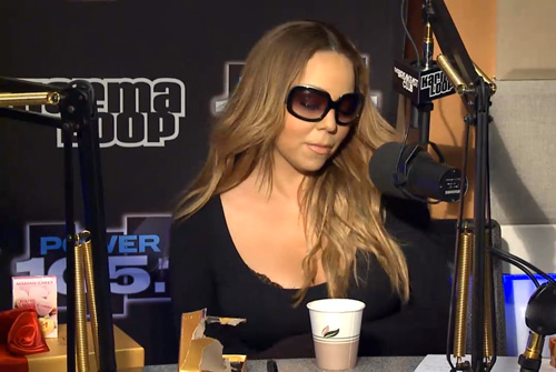 Video: Mariah Carey Interview at The Breakfast Club Power 105.1