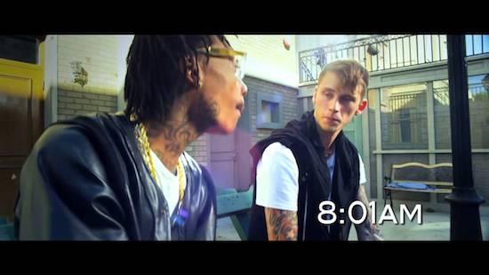 Video: Machine Gun Kelly Ft Wiz Khalifa – Mind Of A Stoner