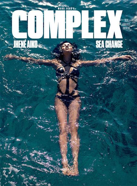 Jhene Aiko covers Complex Magazine