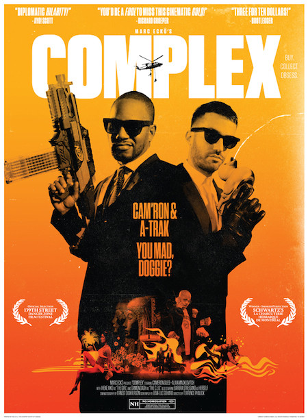 Camron & A-Trak On The Cover Of Complex Magazine