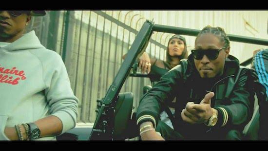 Video: Future Ft Pharrell, Pusha T & Casino – Move That Dope