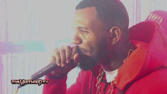 Video: The Game & LA Kings – Tim Westwood Freestyle