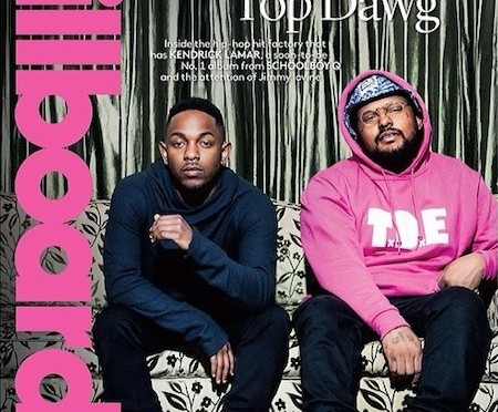 Kendrick Lamar & Schoolboy Q On The Cover Of Billboard Magazine